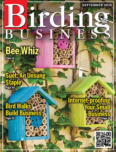 birding business sept. 2015 400 cover